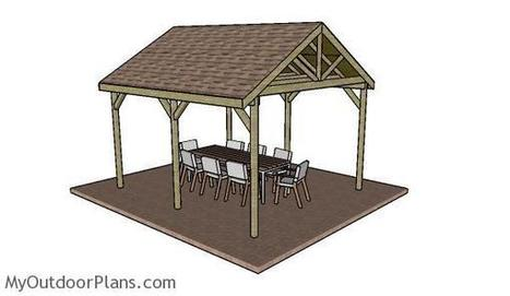 12x14 Outdoor Shelter Plans | MyOutdoorPlans | Free Woodworking Plans and Projects, DIY Shed, Wooden Playhouse, Pergola, Bbq | Garden Plans | Scoop.it