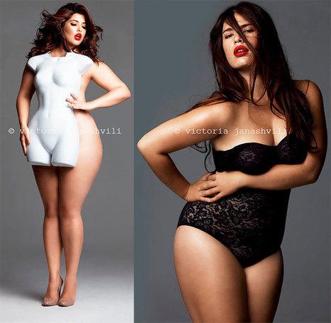La sensualité des femmes rondes révélée par Victoria Janashvili | Plus-Size Fashion | Scoop.it