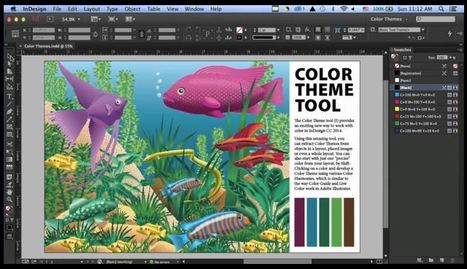 Color Themes Come to InDesign | Tutorial & Tips | Artdictive Habits : Sustainable Lifestyle | Scoop.it