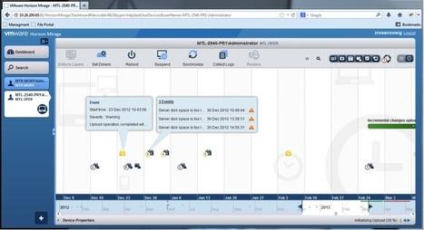 Announcing Horizon Mirage 4.2! | VMware End-User Computing ... | vmware | Scoop.it