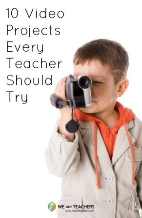 10 Video Projects Every Teacher Should Try | Digital Storytelling Tools, Apps and Ideas | Scoop.it