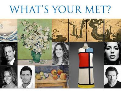 «What is your MET ?» : marketing viral et digital pour mieux diffuser les collections en ligne du musée   Clic France   Scoop.it