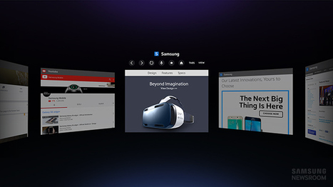 Samsung Launches Web Browser For Gear VR | Low Power Heads Up Display | Scoop.it