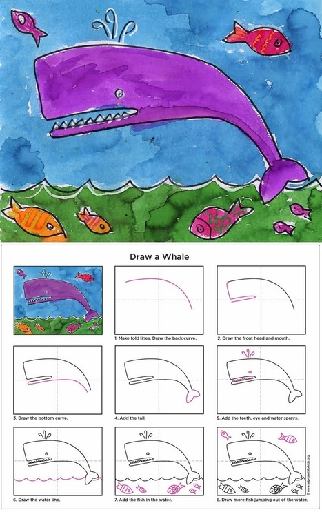 Art Projects for Kids: watercolor | Inspired by the Creative Arts | Scoop.it