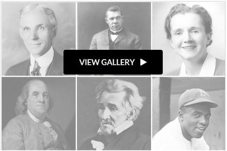 The 100 Most Influential Figures in American History | History and Social Studies Education | Scoop.it