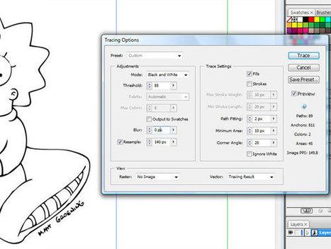Ricalcare un immagine | Claudio Corti | Design, comunicazione visiva e multimediale | Scoop.it
