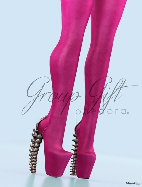 Willow High Boots Group Gift by PHEDORA | Teleport Hub - Second Life Freebies | Second Life Freebies | Scoop.it