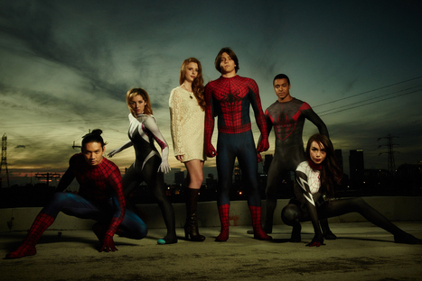 YouTube stars team up for Spider-Man mystery series on Instagram | immersive media | Scoop.it