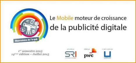 Le Mobile moteur de croissance de la publicité digitale | Marketing web mobile 2.0 | Stratégie Digitale (Nine-Agency) | Scoop.it