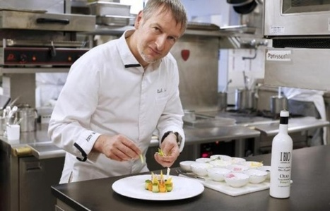 Paolo Sari, seul étoilé de France 100% bio, met la nature dans l'assiette | Des 4 coins du monde | Scoop.it