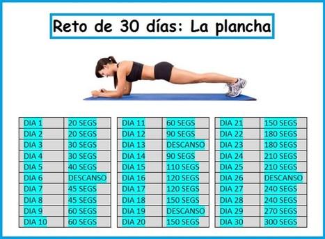 Este ejercicio es más poderoso que 1000 abdominales, se hace en 60 segundos y en 30 días se ven los resultados | Salud y Deporte | Scoop.it