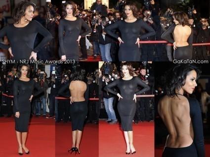 Photos : Shy'm en robe transparente sexy aux NRJ Music Awards 2013 | Radio Planète-Eléa | Scoop.it