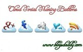 Cloud Social Sharing Buttons For Blogger Blog - Blogs Daddy | Blogger Tricks, Blog Templates, Widgets | Scoop.it