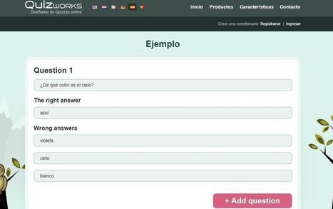 Quizworks: crea gratis tus cuestionarios de tipo Quiz | CLIL VISUAL ARTS AND TECHNOLOGY | Scoop.it
