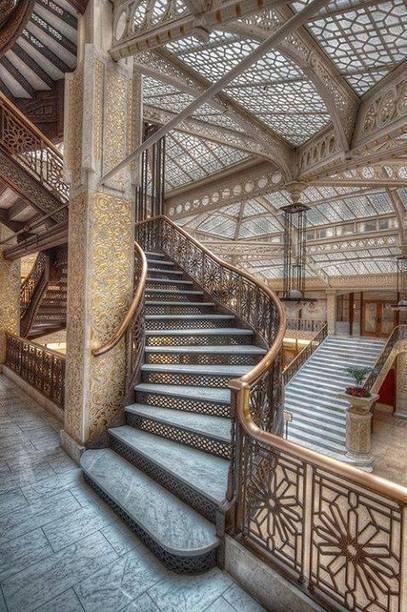 Pour le plaisir des yeux ! Architecture : The Rookery, Chicago   D'Dline 2020, vecteur du bâtiment durable   Scoop.it