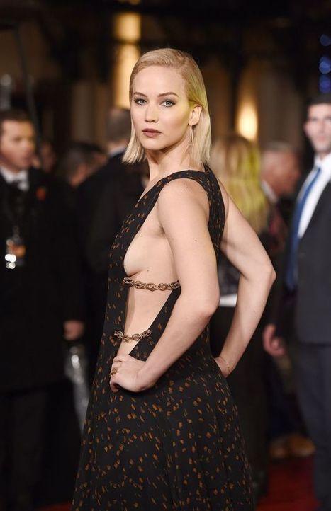 Photos : Oops les seins sexy de Jennifer Lawrence à Londres pour The Hunger Games Mockingjay Part 2 | Radio Planète-Eléa | Scoop.it
