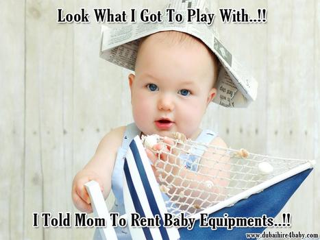 Rent Baby Equipment | Baby Equipment Hire Dubai | Scoop.it
