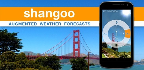 See the future weather overlaid wherever you point this app - shangoo: Augmented Weather Forecasts | Pervasive Entertainment Times | Scoop.it