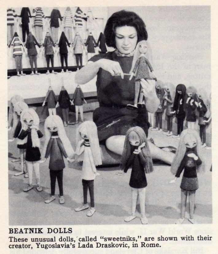 Beatnik 'Sweetnik' Dolls | Kitsch | Scoop.it