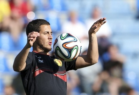 Creative Eden Hazard will be counted on to find net for Belgium, too - The National | Belgium in 2014 World Cup | Scoop.it