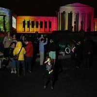 Albright-Knox show features large 3D video projection - Buffalo News | Light Art | Scoop.it