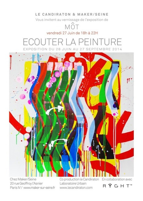[Paris Tonkar magazine] #graffiti #streetart #urban #lifestyle: Exposition MÔT chez MAKER/SEINE | Expositions • Exhibitions | Scoop.it
