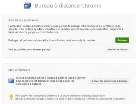 Bureau à distance Chrome, version finale   Ballajack   Geeks   Scoop.it