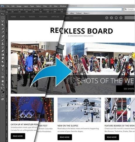 Photoshop to HTML Conversion Software | Webbsy | Graphisme, Web & Technologie | Scoop.it