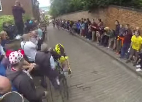 Man with DSLR Knocks Down Rider at British National Cycling Championship | xposing world of Photography & Design | Scoop.it