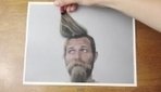 'Ballpoint Barber': Man Gets Hair And Beard Done With 'Magic Pen' - DesignTAXI.com | Matmi Staff finds... | Scoop.it