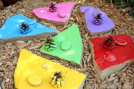 Outdoor Color Matching for Toddlers - Twodaloo | Outdoor Learning | Scoop.it