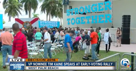 Pathetic! Hardly Anyone Shows up to Tim Kaine Florida Rally » Alex Jones' Infowars: There's a war on for your mind! | Global politics | Scoop.it