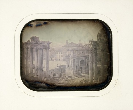 Unidentified photographer, The Roman Forum, ca. 1845,... | Roman | Scoop.it