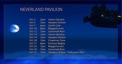 "Samm Qendra @ ""Neverland,"" the 2016 Calas Galadhon Halloween build – 2pm SLT, Sunday, October 2!   Durff   Scoop.it"