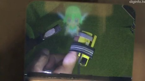 Le RePro3D vous permet de toucher des personnages 3D ...   Infographie 3D   Scoop.it
