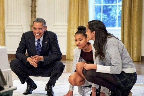 Glamour Exclusive: President Obama On Feminism and the World He Wants to Leave His Daughters | Women and Girls | Scoop.it
