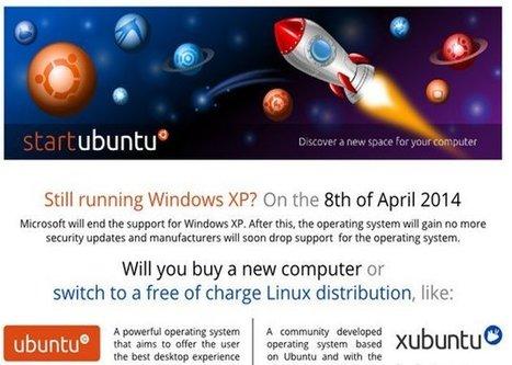 La comunidad de Ubuntu recomienda reemplazar Windows XP con Ubuntu | Contenidos educativos digitales | Scoop.it