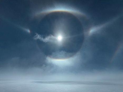National Geographic : #soleil #parhélie #halo #Groenland | Hurtigruten Arctique Antarctique | Scoop.it