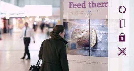 Faites un don en toute simplicité grâce à ce panneau publicitaire interactif ! | Cabinet de curiosités numériques | Scoop.it