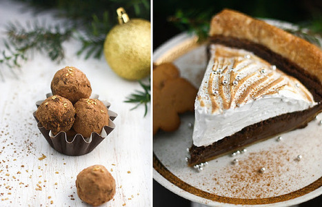 Gingerbread Pie and Coffee Mascarpone Truffles | Cakes & Bakes | Scoop.it