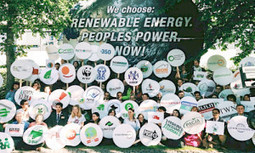 Protesters at UN Climate Talks in Bonn: We Choose Renewable ... | GIS in Sustainable Development | Scoop.it