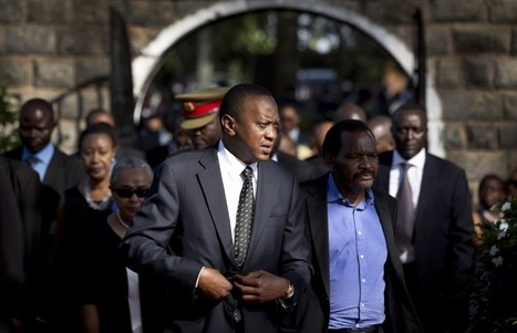 Most Kenyans want their president to be tried at Hague for vote violence ... - Washington Post | Kenya | Scoop.it