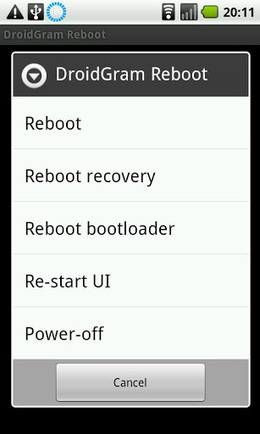 DroidGram Fast Reboot PRO v1.28 APK Free Download | Android Now | Scoop.it