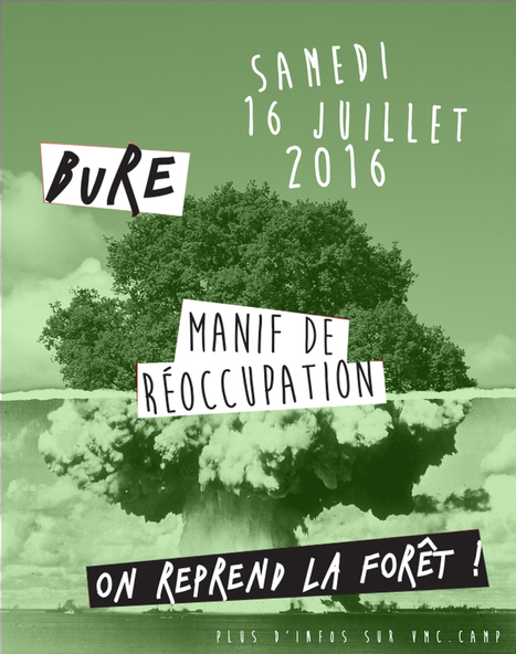 A Bure, les opposants à la « poubelle nucléaire » appellent à réoccuper la forêt menacée | Sale temps pour la planète | Scoop.it