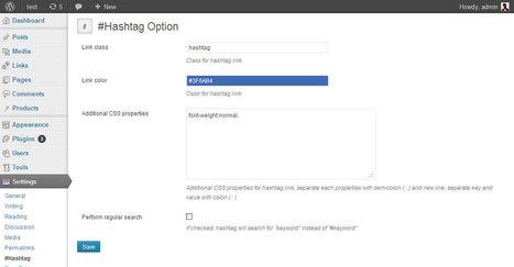 Utilisez des hashtags dans vos articles WordPress et créez des liens entre vos articles   Time to Learn   Scoop.it