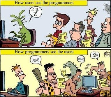 Programmers vs. Users   All Geeks   Scoop.it