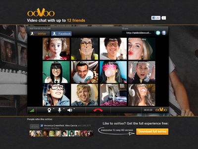 Meet ooVoo, The New Google Hangouts Rival You Can Use In Facebook | GooglePlus Expertise | Scoop.it