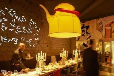 Philippe Starck scénarise un nouveau restaurant asiatique à Paris | finger food | Scoop.it