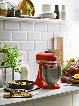 KitchenAid Artisan Mini Tilt-Head Stand Mixer in Hot Sauce - What I Like About This Mixer | Stuff for the Home | Scoop.it