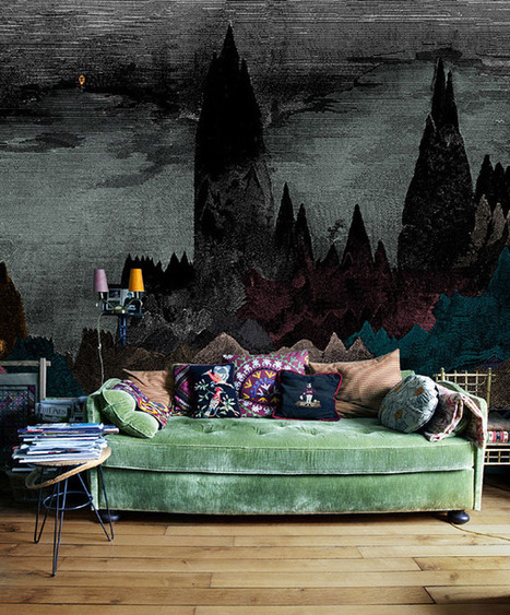 Exclusive Wallpaper Motifs by Paris Designers | Home & Office Styling | Scoop.it